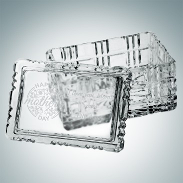 Majestic Crystal Box - Rectangle | Hand Cut