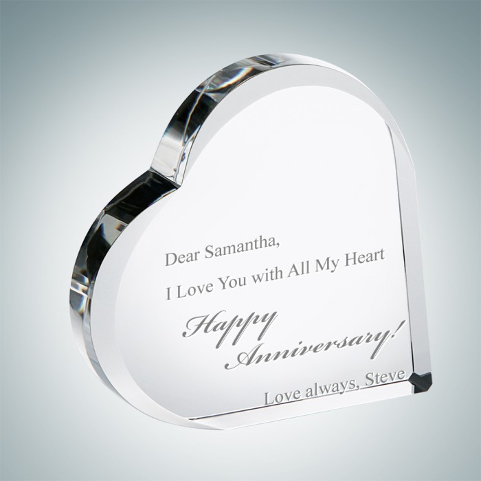 Anniversary Heart Keepsake