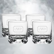 Orrefors Erik DOF Whiskey Glass 12oz, 4pcs Set
