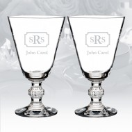 Waterford Town & Country Ashton Lane Wine Glass 30oz, Pair