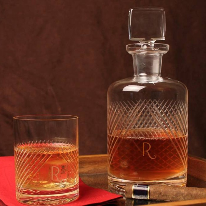 Bourdon Street Decanter and OTR