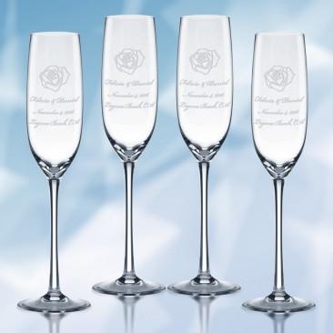 Lenox Tuscany Classics Fluted Champagne 7oz, 4pcs Set