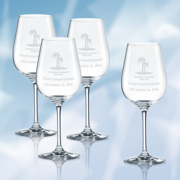 Lenox Tuscany Classics Pinot Grigio Wine Glass 4pc Set, 16oz