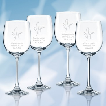 Lenox Tuscany Classics Chardonnay Wine Glass 4pc Set, 12oz