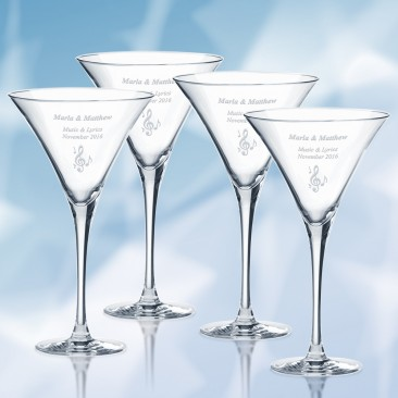 Lenox Tuscany Classics Martini Glass 10oz, 4pcs Set