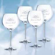 Lenox Tuscany Classics Grand Beaujolais Wine Glass 25oz, 4pcs Set