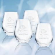 Lenox Tuscany Classics Simply White Tumbler 12oz, 4pcs Set