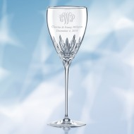 Lenox Firelight Platinum Signature Goblet 10oz