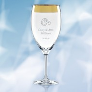 Lenox Timeless Wide Gold Iced Beverage 12oz