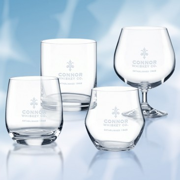 Lenox Tuscany Classics Assorted Whiskey Glass, 4pc Set