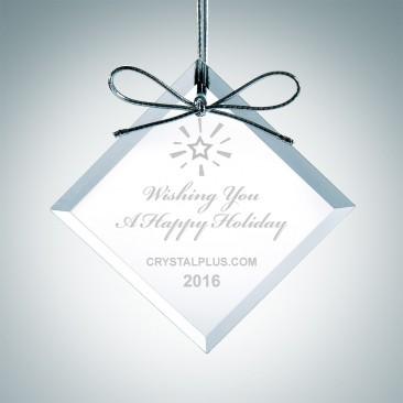 Premium Square Diamond Ornament
