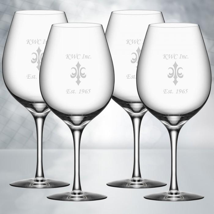 Orrefors More Wine XL 20oz, 4pcs