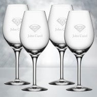 Orrefors More Wine Glass 4pcs Set
