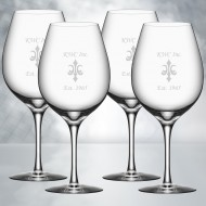 Orrefors More Wine XL 20oz, 4pcs Set