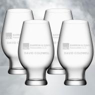Orrefors Beer IPA 12oz, 4pcs Set