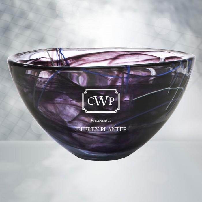 Gifts To Teachers Grads Kosta Boda Black Contrast Bowl Corporate