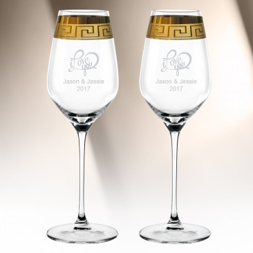 Nachtmann Muse White Wine XL 17.7oz, Pair