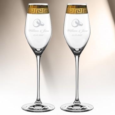 Nachtmann Muse Champagne 10.6oz, Pair