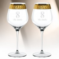 Nachtmann Muse Burgundy 29.6oz, Pair
