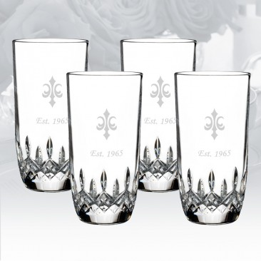 Waterford Lismore Encore Highball Glass, 4pcs Set