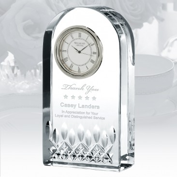 Waterford Giftology Lismore Essence Clock