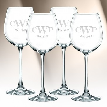 Nachtmann Vivendi White Wine Glass 16.7oz, 4pcs Set
