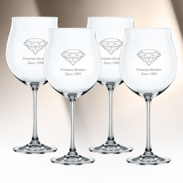 Nachtmann Vivendi Pinot Noir Glass 4pc Set, 31.6oz