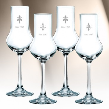 Nachtmann Vivendi Stemmed Spirit Glass 3.8oz, 4pcs Set