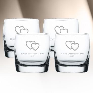 Nachtmann Vivendi Whisky DOF 11.2oz,  4pcs Set