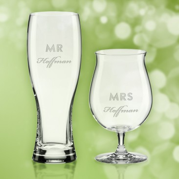 Kate Spade Darling Point Mr & Mrs Beer, Pair