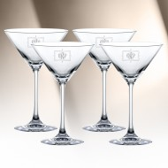 Nachtmann Vivendi Martini Glass 6.8oz, 4pcs Set