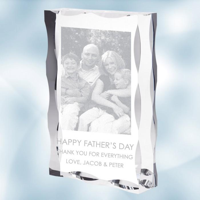 Acrylic Waved Edge - Family Phot