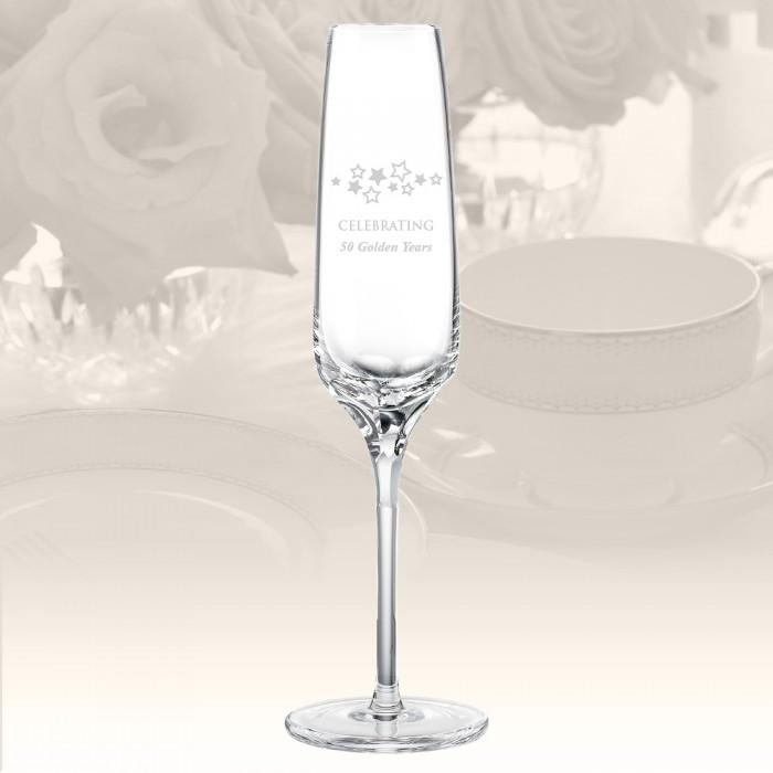 Rogaska Blossom Champagne Flute