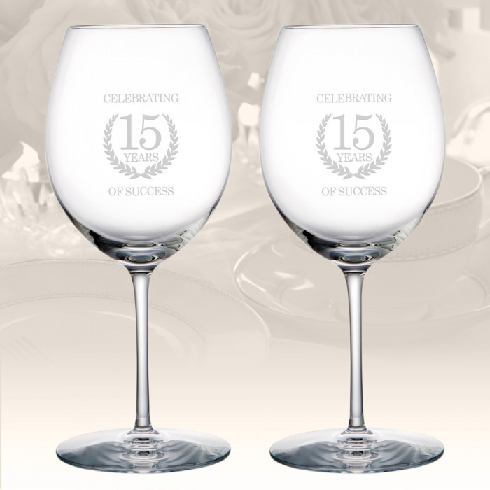 Rogaska Expert Pinot Glass, Pair