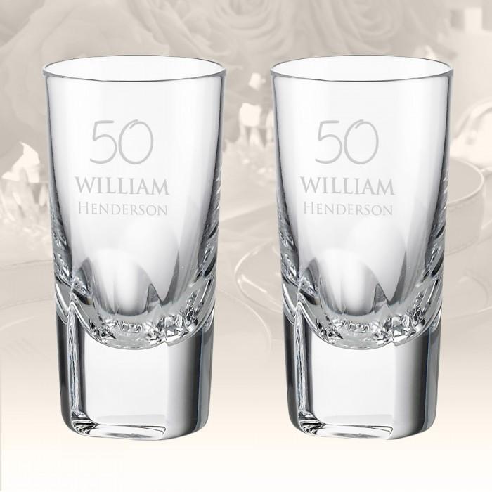 Rogaska Manhattan Shot Glass, Pa