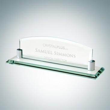 Nameplate with Aluminum Holder