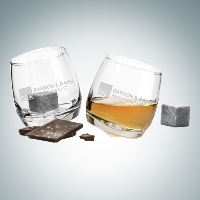 Sagaform Rocking Tumblers, Pair