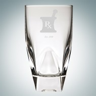 RCR Diamante Highball Glass, 12oz