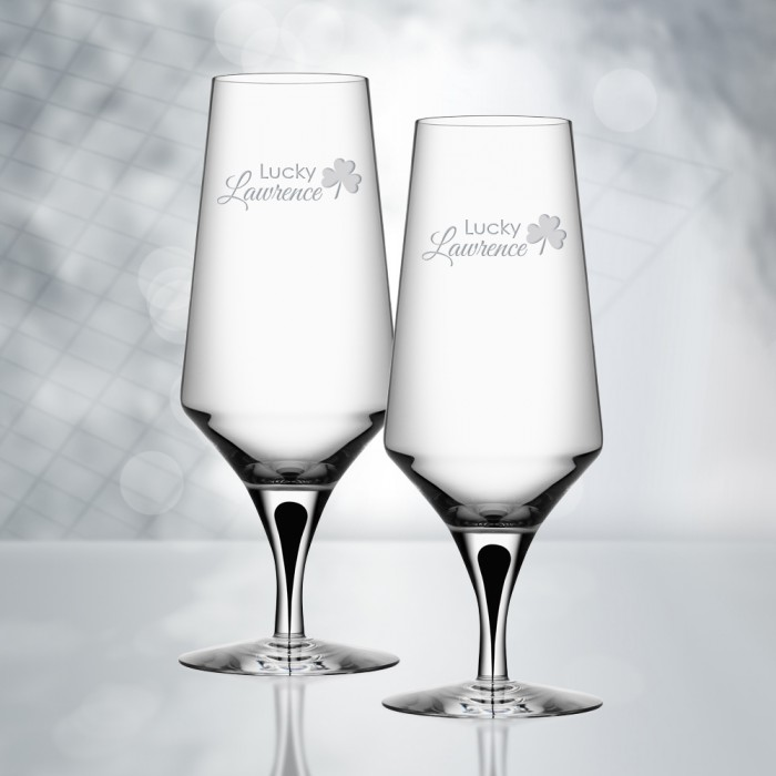 Orrefors Metropol Beer Glass 15.