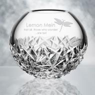 Orrefors Carat Globe Vase