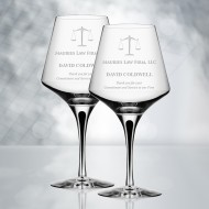 Orrefors Metropol Red Wine Glass 20.6oz, Pair