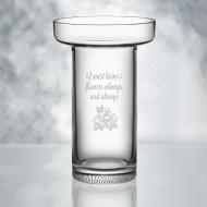 Kosta Boda Limelight Rose Vase