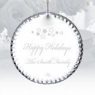 Waterford Beveled Circle Ornament