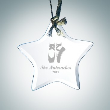 Beveled Star Ornament