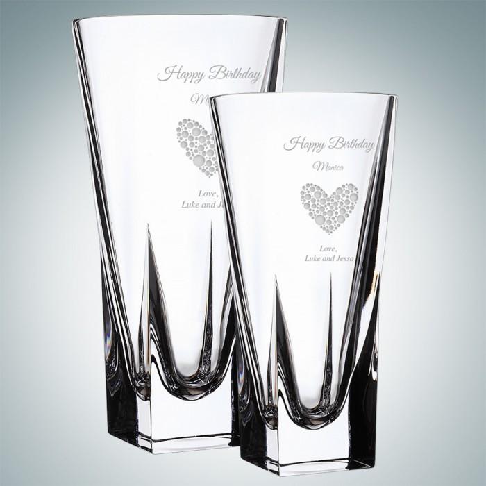 RCR Fusion Crystal Vase