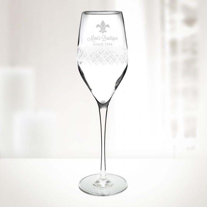 Diamond Champagne Flute 9.25oz