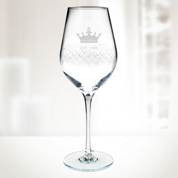 Diamond White Wine Glass 14.75oz