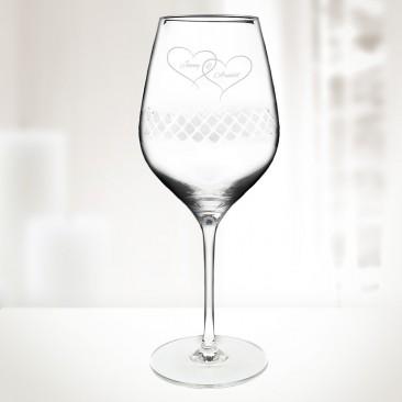 Diamond Bordeaux Wine Glass 22.75oz