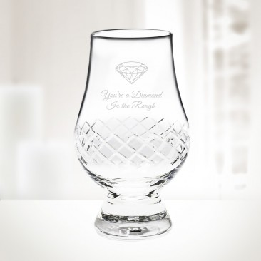 Diamond Glencairn Whiskey Glass 6.75oz