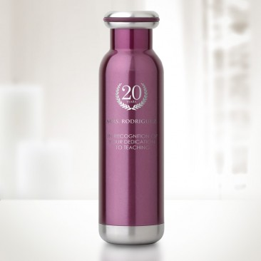 bq Classic Plum Purple Vacuum Bottle